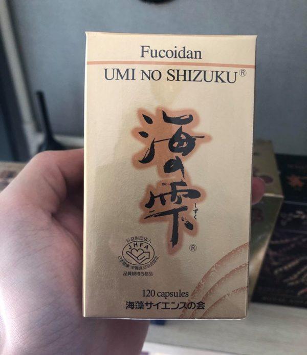 Tảo biển nội địa Nhật Bản Fucoidan Umi No Shizuku