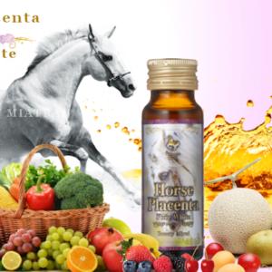 nước uống đẹp da nhau thai ngựa đua horse plaenzyme