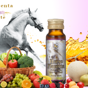 Nước Uống Trắng Da Nhau Thai Ngựa - Horse Placenta Pure White