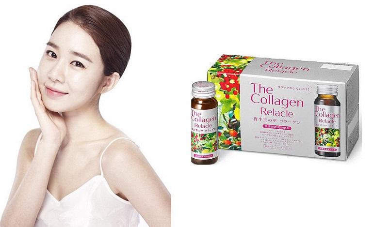 Collagen Shiseido Relacle - Nước Uống Đẹp Da
