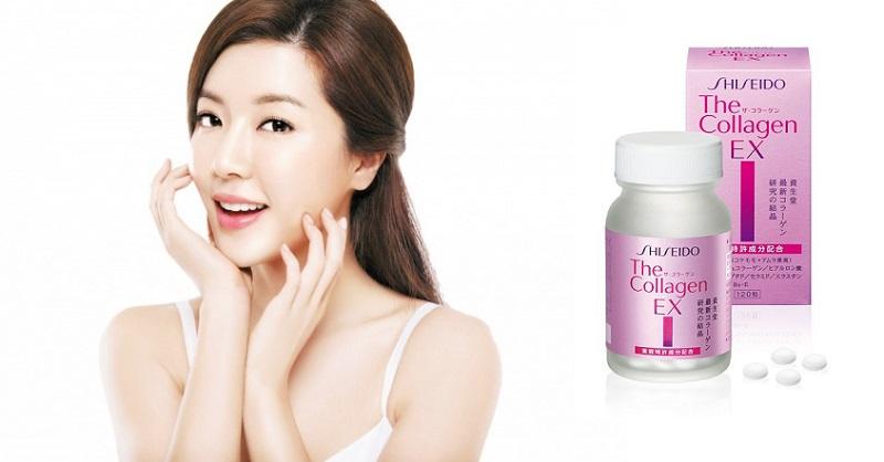 collagen shiseido ex dạng viên của nhật