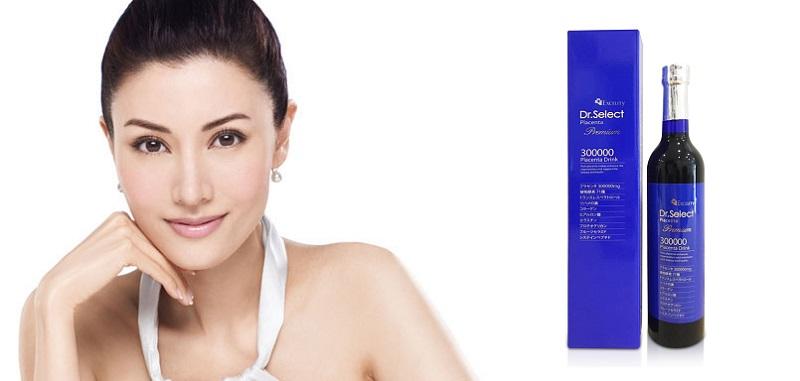 Nhau Thai Heo Dr Select Premium Placenta 300000 Drink