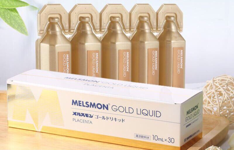 Nhau Thai Ngựa Melsmon Gold Liquid