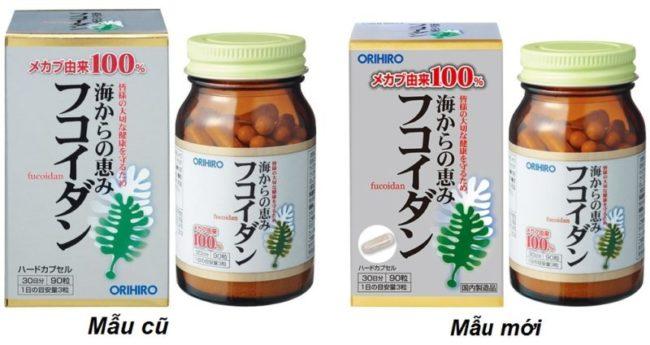 tảo fucoidan orihiro chính hãng
