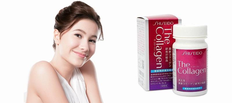 viên uống trắng da collagen shiseido enriched