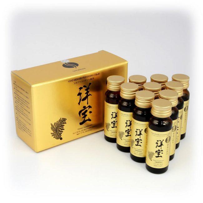 yoho mekabu fucoidan dạng nước