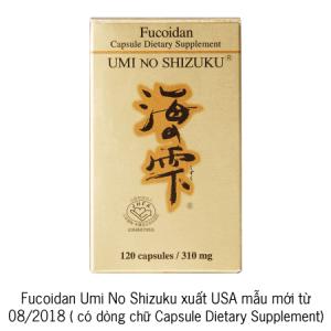 fucoidan umino shizuku usa mới 2018