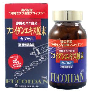 okinawa fucoidan đỏ nhật bản