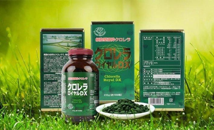 công dụng tảo lục chlorella